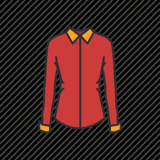 clothing, fashion, formal attire, garment, longsleeve, polo, shirt icon