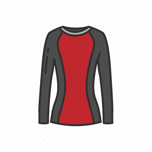 clothing, garment, rash guard, rash vest, shirt, swim shirt, swimwear icon