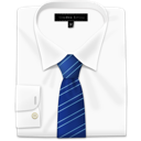 stripes, tie, blue, shirt, with