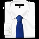 blue, shirt, tie