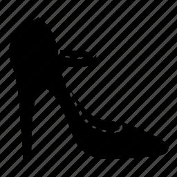 footwear, heels, high, ladies, mary janes, pumps, womens icon