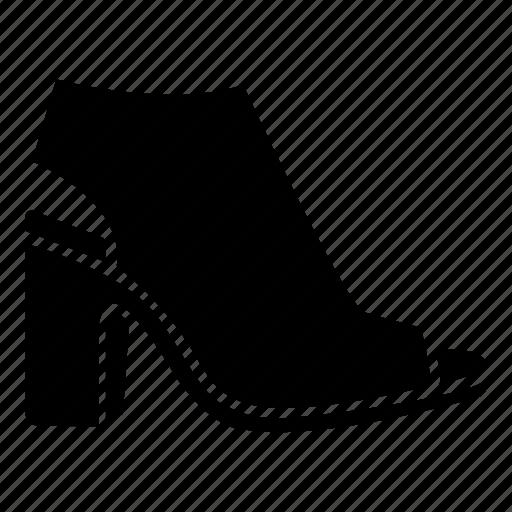 footwear, heels, ladies, mule, sandal, shoe, woman icon