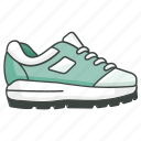 footwear, joggers, kicks, running, shoe, sneaker, trainers icon