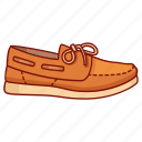 boat, boaters, canvas, deck, footwear, mens, shoe icon