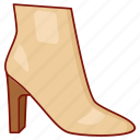 bondage, boot, enclosed, footwear, heel, ladies, womens icon