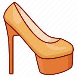 fashion, high heel, ladies, platform, shoe, stiletto, womens icon
