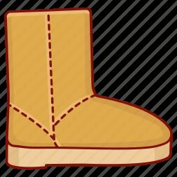 boot, footwear, sheepskin, sleepwear, slipper, snow, ugg icon