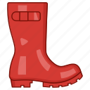 boot, gumboot, rain, rainboots, rubber, shoes, wellington icon