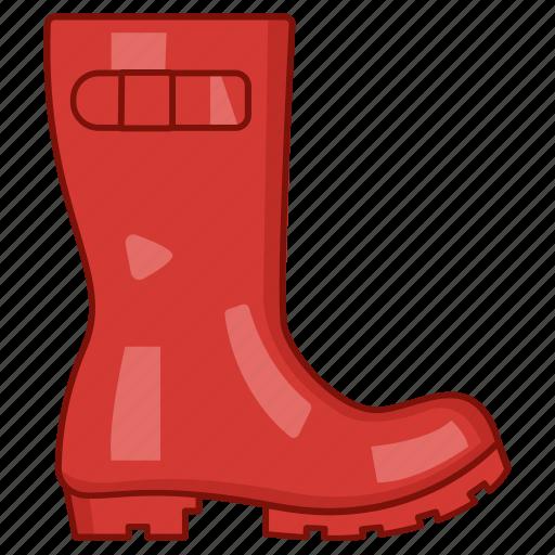 boot, gumboot, rain, rainboots, rubber, shoes, wellington icon