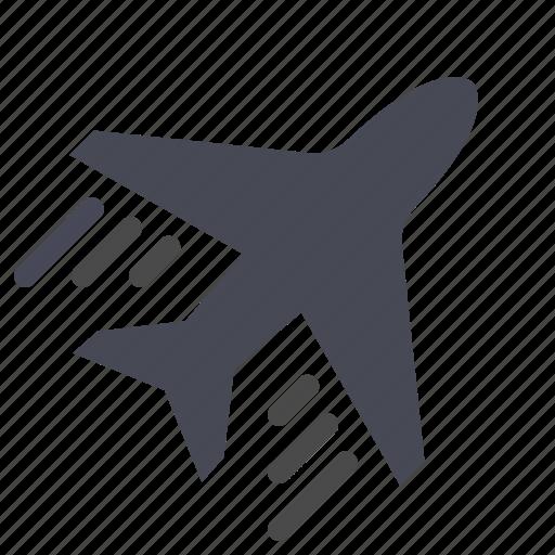 ecommerce, flight ticket, plane, shopping icon