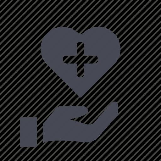 donation, ecommerce, love, shopping icon