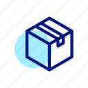 box, delivery, gift, package, shipping icon