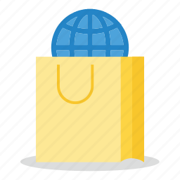 commerce, global, marketing, sales, shop icon