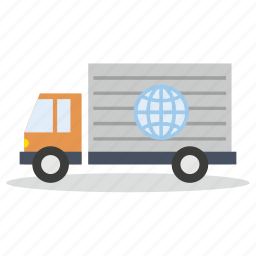 commerce, delivery, marketing, sales, shop, truck icon