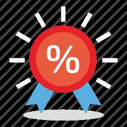 commerce, discount, marketing, percent, sales, shop icon