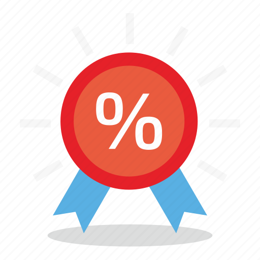 commerce, discount, marketing, percent, sales, shop icon