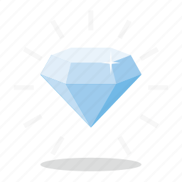 commerce, diamond, marketing, sales, shop icon