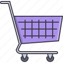 cart, commerce, market, shop, shopping, supermarket icon