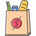 commerce, food, pocket, purchase, shop, shopping, supermarket icon