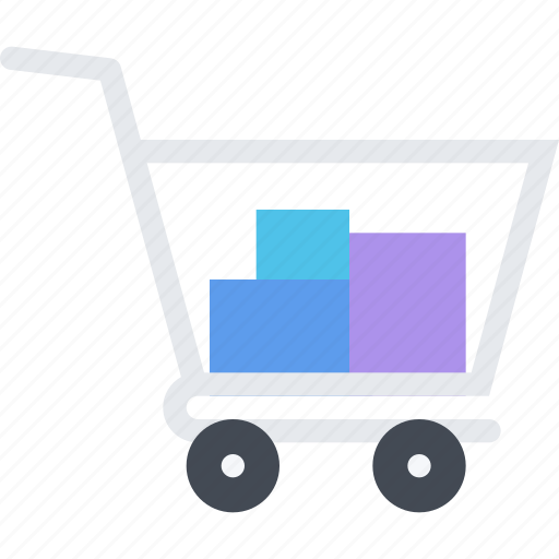 cart, commerce, online shop, shop, supermarket icon