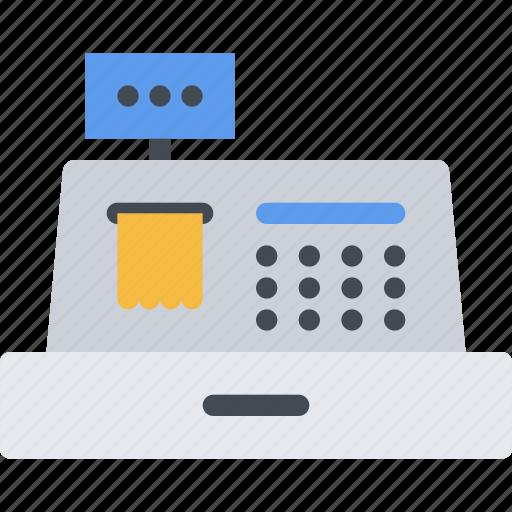 cash, commerce, online shop, register, shop, supermarket icon