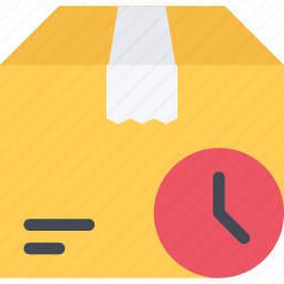 commerce, delivery, online shop, shop, supermarket, time icon