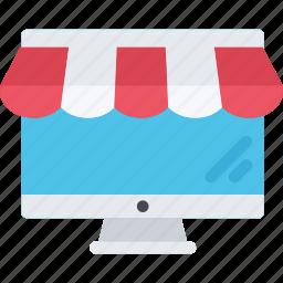 commerce, online, online shop, shop, supermarket icon