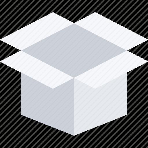box, commerce, online shop, open, shop, supermarket icon