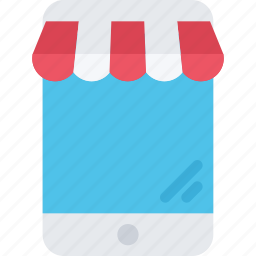 app, commerce, online shop, shop, supermarket icon
