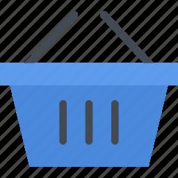 basket, commerce, online shop, shop, shopping, supermarket icon