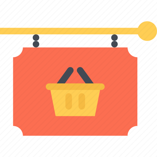 commerce, online shop, shop, signboard, supermarket icon