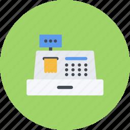 cash, e-commerce, online shopping, register, sale, shop, shopping icon