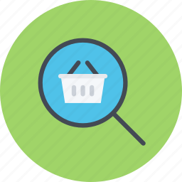 e-commerce, online shopping, sale, search, shop, shopping icon