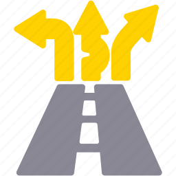 driveway, highway, road, roadway, transport, travel icon