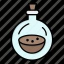 bottle, perfume, spray, toilette icon