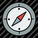 compass, direction, gps, navigation icon