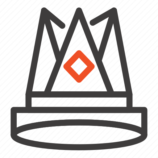 achievement, crown, empire, first, king, position icon