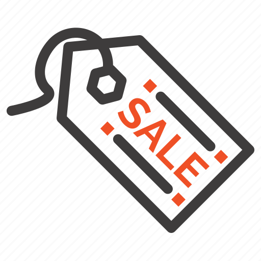 ecommerce, sale, shopping, tag icon