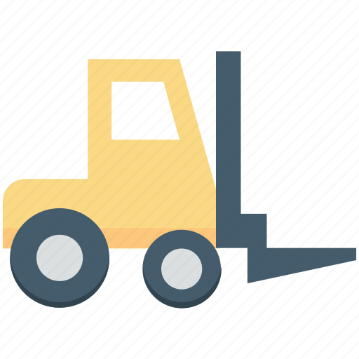 bendi truck, counterbalance truck, fork truck, forklift truck, pallet jack icon