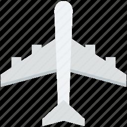 aeroplane, air jet, aircraft, airplane, plane icon