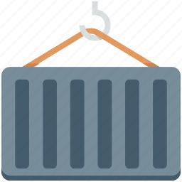 cargo container, container, delivery, shipping, warehouse icon