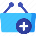 add, basket, buy, market, shop, shopping, store icon