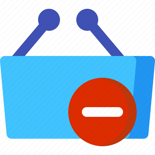 basket, buy, market, remove, shop, shopping, store icon