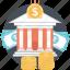 banking, finance, money, savings, wealth icon