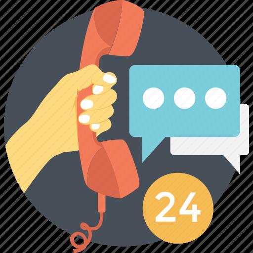 call center, call us, customer support, helpline, hotline icon