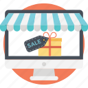 digital sales promotion, ecommerce, online discount, online marketing, sale promotion icon