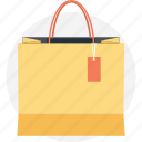 paper bag, reusable bag, shopper bag, shopping bag, tote bag icon