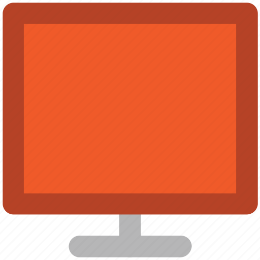 desktop, electronics, flat screen, lcd, led, monitor, screen icon