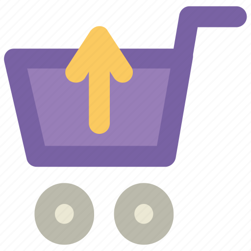 buy, ecommerce, online shopping, remove from cart, shopping cart, supermarket, trolley icon