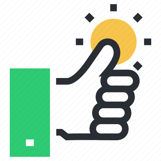 agree, approved, hand gesture, like, ok, social like, thumbs up, well done icon